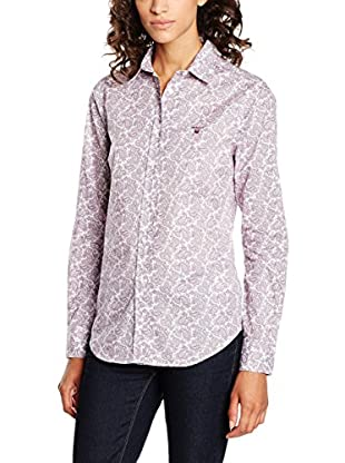 GANT Camicia Donna Broadcloth Stretch Paisley Shirt