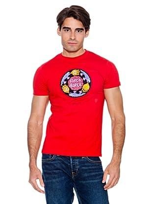 Kukuxumusu Camiseta Força Barça (Rojo)