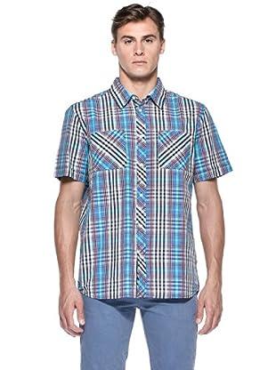 Rip Curl Camicia Gabe Ss Shirt (Blu)