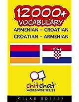 12000+ Armenian - Croatian, Croatian - Armenian Vocabulary