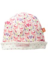 Magnificent Baby Baby-Girls Newborn Love Birds Reversible Hat, Love Birds, One Size
