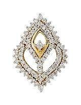 Asmi 18k Yellow Gold Diamond Pendant