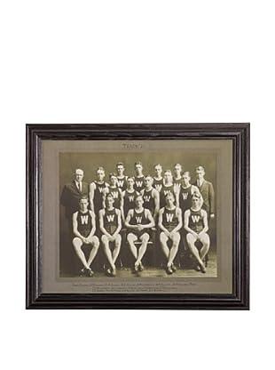 Gargoyles Ltd. Vintage Replica Team Photo Framed Art, 16