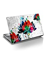 "Monika Creations Beautiful Lotus water color art 15.6 inch Laptop Skin, 3M Vinyl Fits for 13.3"", 14"", 15"", 15.6"", 16"" Screen- Improve Peace in Mind, Office and home- Improve your wealth (BUY 2 AND GET 1 FREE)"