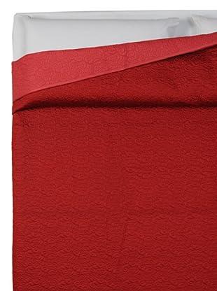 HomeTrends Copriletto Pearl Ricamo (Rojo)