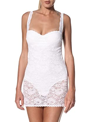 Cosabella Women's Never Say Never Sexy Shaper Chemise (White)