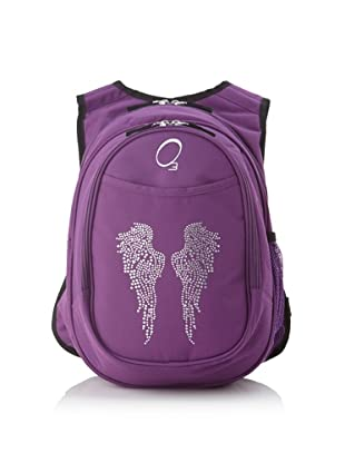 O3 Kid's All-in-One Pre-School Backpacks with Integrated Cooler (Rhinestone Angel Wings)