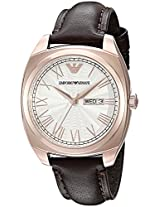Emporio Armani Analog White Dial Men's Watch - AR1939