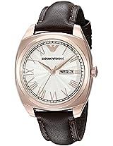 Emporio Armani Analog White Dial Men's Watch - AR1939
