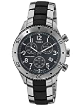 Timex Black Dial Analogue Watch for Men (T2M706)