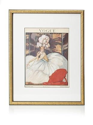 Original Vogue Cover from 1921 by Jean-Gabriel Domergue