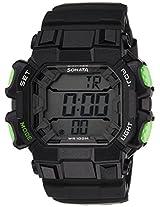 Sonata Ocean Series III Digital Grey Dial Unisex Watch - 77025PP01J