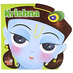 Early Learning Cut Out Book: Krishna