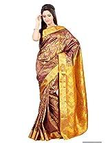 Mimosa Kanchipuram Art Silk Saree Mejantha Colour(3118-2064-K-MEJANTHA)