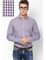 Purple Full Sleeve Casual Shirts