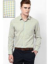 Yellow Formal Shirt Peter England