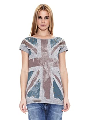 Pepe Jeans London Camiseta Lovers (Gris)