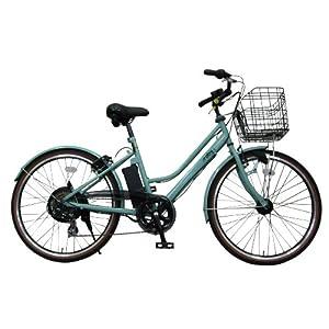 エアロアシスタント リチウム 電動アシスト自転車 aby+L アビー ライトブルー TB266ST