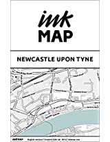 Newcastle upon Tyne Inkmap - maps for eReaders, sightseeing, museums, going out, hotels (English)