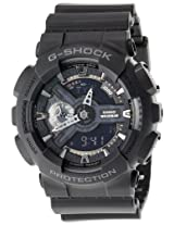 Casio G-Shock Analog-Digital Black Dial Men's Watch - GA-110-1BDR (G317)