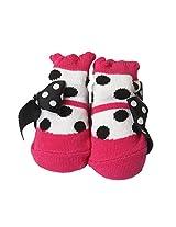 Little's Unisex Sandals Multi-Color Cotton Booties baby bootie