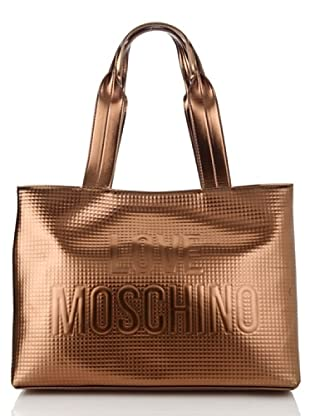 Love Moschino Shopping bronzo