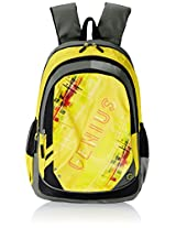 "Genius Nylon Children's Backpack (GN 1520 - 19""-YELLOW)"