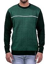 Lamode Green Stylish Sweater(LA00193L-G_Green_Large)