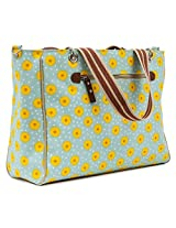Pink Lining Bramley Tote Bag, Sunflowers