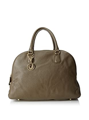 Charles Jourdan Women's Ada Multi-Pocket Top Handle Satchel (Army)