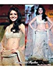 AARA ANUSHKA SHARMA WEARING IN MANISH MALHOTRA CREAM LEHENGA CHOLI DESIGNS B-106