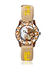 Trudi Kid's Mom and Baby Bear Watch, Tan