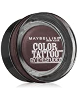 Maybelline New York Eye Studio Color Tattoo Leather 24 HR Cream Gel Eyeshadow, Vintage Plum, 0.14 Ounce