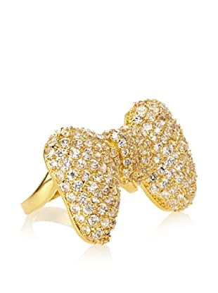 Kate Bissett Bow Tie CZ Ring