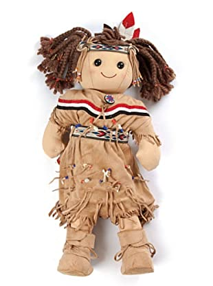 My Doll Muñeca Indian Girl BI026 Multicolor