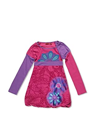 Desigual Vestido Tarazona (Fresa Oscura)