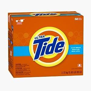 Tide Clean Breeze Scent Powder Laundry Detergent 68 Loads 95 Oz