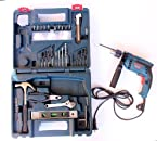 BOSCH Impact Drill GSB 13 RE Professional - 13 MM Reversible, Vari - Speed + 100 Pcs Accessory Kit