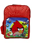 R-Dzire School bag Funky Angry Bird Red