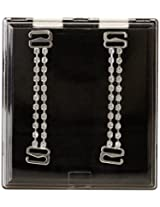 Fashion Forms Women's Clear Straps with Rhinestones