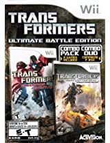 Transformers Cybertron Adventures & Dark Of The Moon Stealth Force Edition Wii