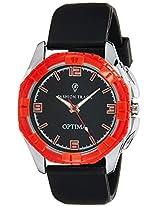Optima Analog Black Dial Men's Watch - FT-ANL-2475