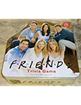 Friends Trivia Game; In A Collectible Yellow Tin [Toy]