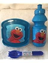 4 Pc Toddler Sesame Street Characters Lunch Kit (Bert)