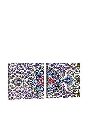 Dekorjinal Set, 2-teilig dekoratives Bild Kad154 (mehrfarbig)