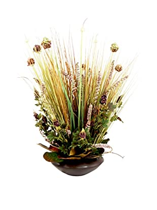 Creative Displays Thistle & Grass in Bowl