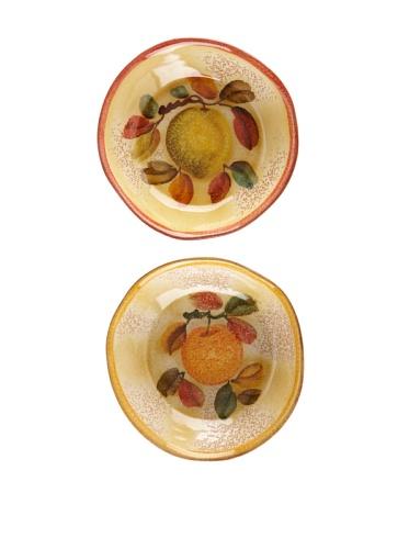 Modigliani Set of 2 Frutta Laccata Soup/Pasta Bowls, 8