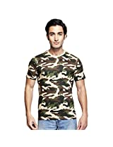 Clifton Mens Cotton T-Shirt (Aaa00013486 _Multi-Coloured _Small)