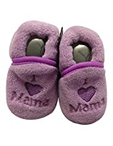Cool Baby Winter Warm Indoor Winter Indoor Slippers Slip-On Shoes (I Love Mama)