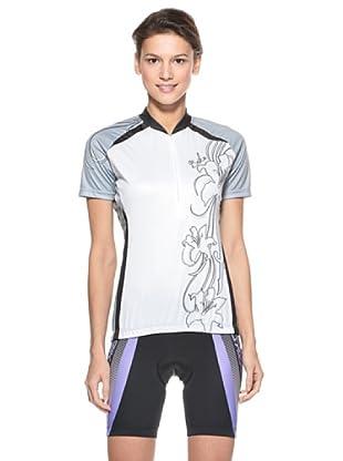 Briko Sparkling Funktionsshirt (weiß  grau  schwarz)